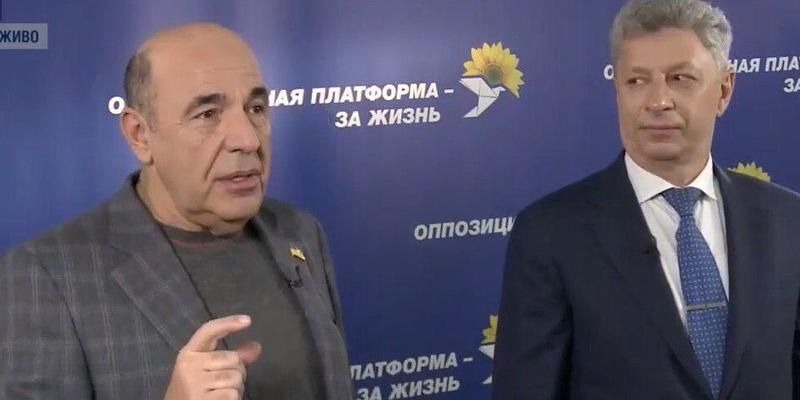 Рабінович - опозиційним силам: Приєднуйтесь до нашої партії, адже тільки ми зможемо перемогти владу