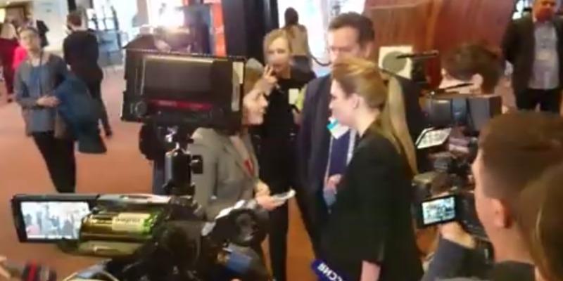 У ПАРЄ стався конфлікт між українськими депутатами та російською пропагандисткою (відео)