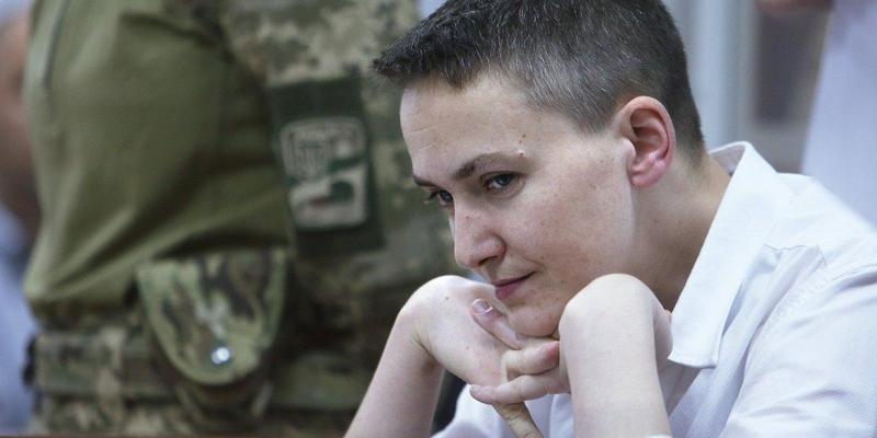 Ув'язнену Савченко висунули кандидатом в президенти