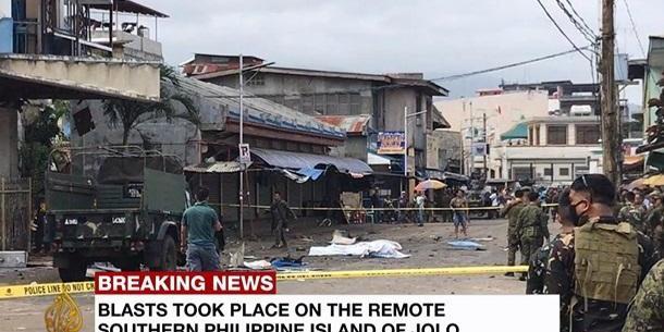 На Філіппінах у католицькому соборі стався теракт:  загинула принаймні 21 людина, поранено понад 70