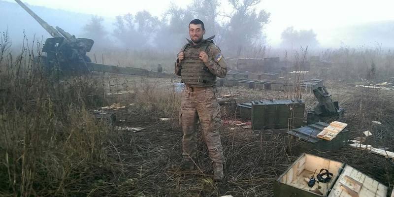 Луценко опублікував фото сина, який служив у АТО