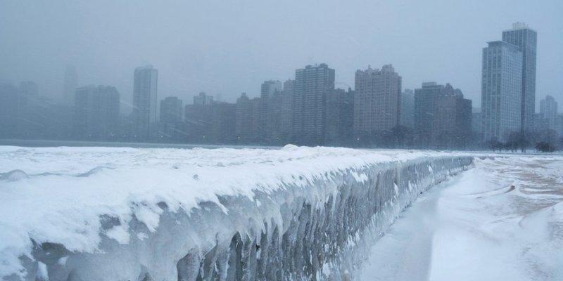 Америку накрили арктичні морози: місцями до -55°C (фото, відео)