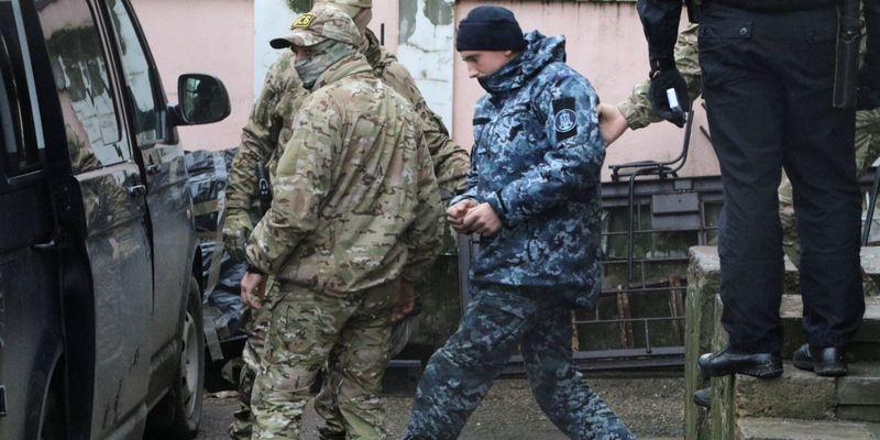 Стан військовополонених українських моряків погіршився