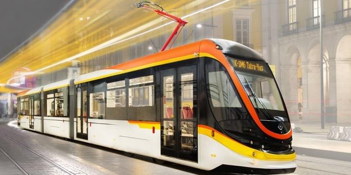 Українська компанія відправила перший трамвай в Єгипет (відео)
