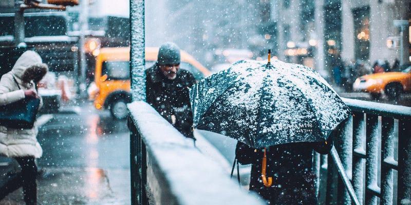 Погода на сьогодні: Україну накриють дощі та мокрий сніг (карта)