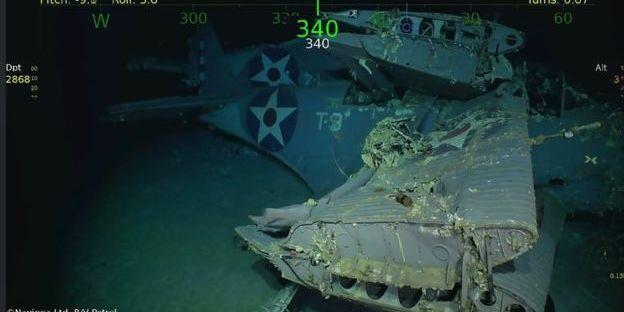 Знайшли відомий авіаносець «Хорнет», що потонув 77 років тому