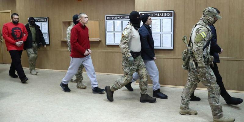 ФСБ Росії відмовилася передати Україні поранених моряків для лікування