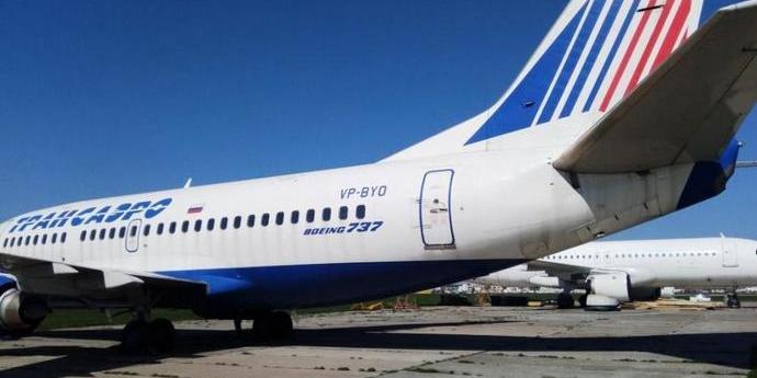В Україні заарештований російський Boeing продали за півціни