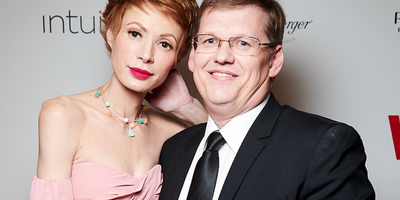 Павло Розенко із коханою влаштували культурний вечір у День святого Валентина (фото)