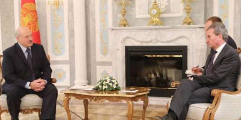 Президент Білорусі нагадав єврокомісару, що сусіди − «від господа»