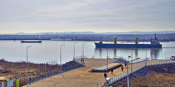 З України в Румунію добиратимуться через Дунай