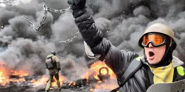 Щоб завжди пам'ятати: вражаючі фото з Майдану (фото)