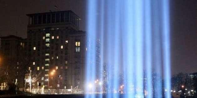 На Майдані запалили Промені Гідності (відео)