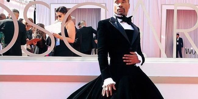 У пишній спідниці: американський актор шокував вбранням на червоній доріжці Оскар 2019 (фото)