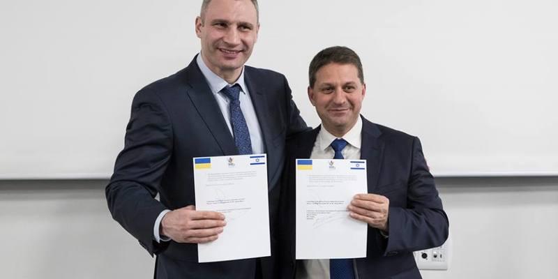 Кличко: У Києві впровадять новий ефективний ізраїльський сервіс для надання послуг киянам (відео)