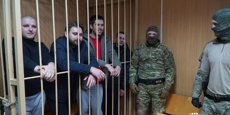 Росія хоче направити захоплених українських моряків на психіатричну експертизу