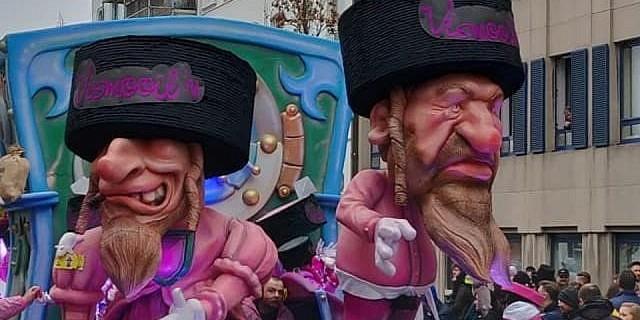 ЄС засудив антисемітський карнавал у Бельгії