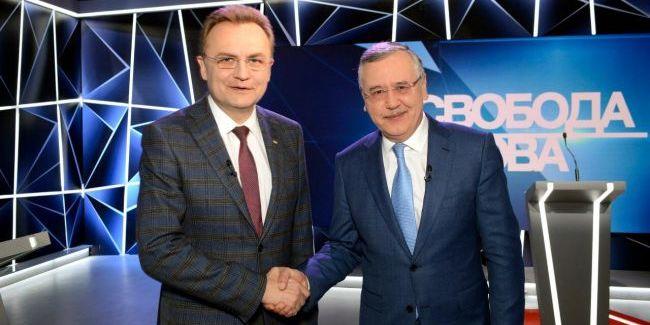 Гриценко і Садовий підписали угоду про об'єднання на виборах