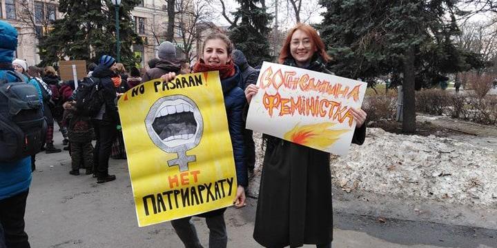 У Харкові відбувся Марш жіночої солідарності, йому намагалися перешкодити радикали (фото)