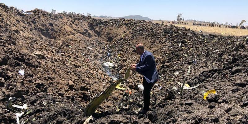 Падіння авіалайнера в Ефіопії: ніхто не вижив