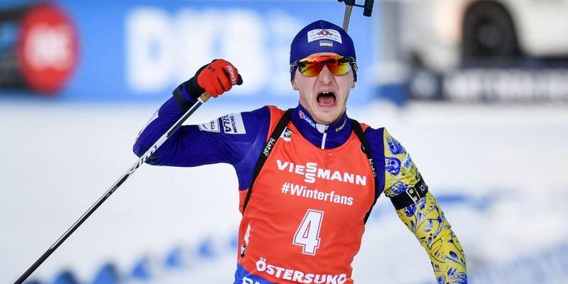 Українець Підручний став чемпіоном світу з біатлону (фото)