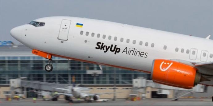 SkyUp оголосив нові напрямки з Києва