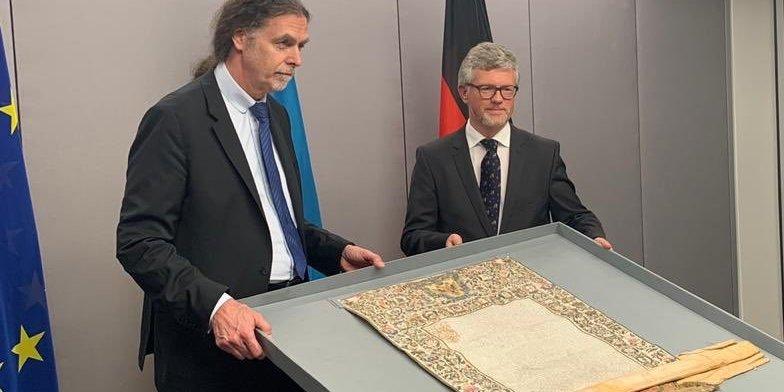 Німеччина повернула Україні грамоту київського митрополита часів гетьмана Мазепи