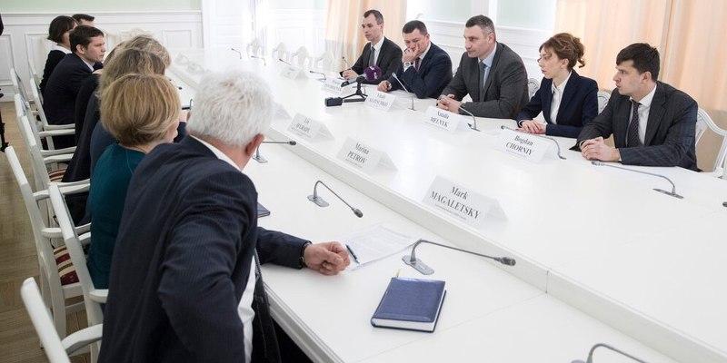 Кличко домовився з ЄБРР про фінансування важливих для міста інфраструктурних проектів