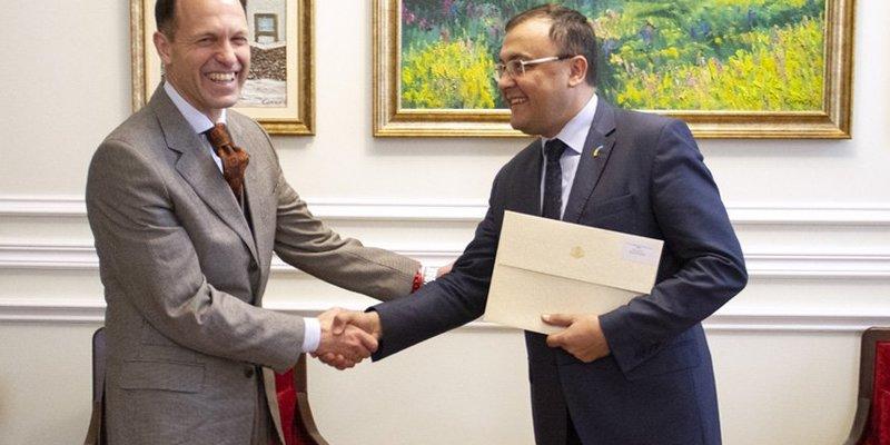 До України прибув новий посол Болгарії