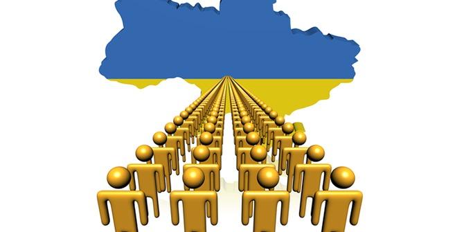 Населення України за січень скоротилося на 30,5 тисяч осіб
