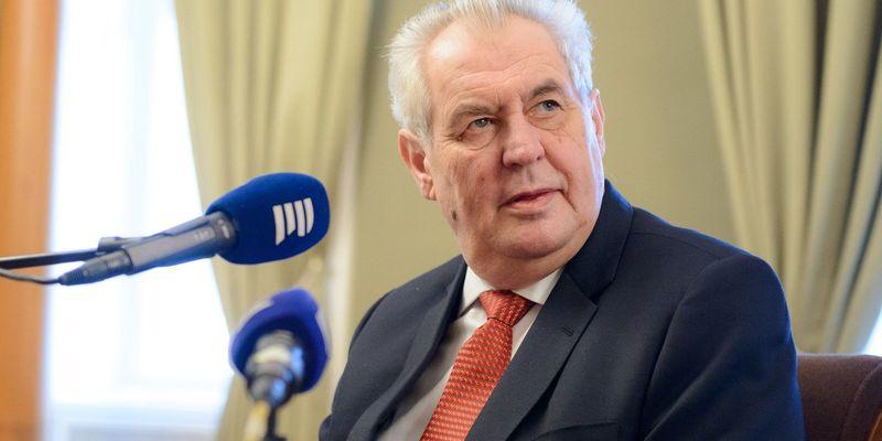 Президент Чехії запропонував змінити Конституцію України