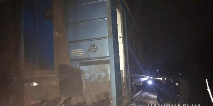 Потяг із пасажирами зійшов із рейок на Тернопільщині