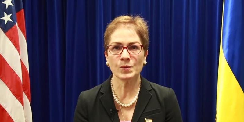 Посол США Йованович звернулася до українців перед виборами