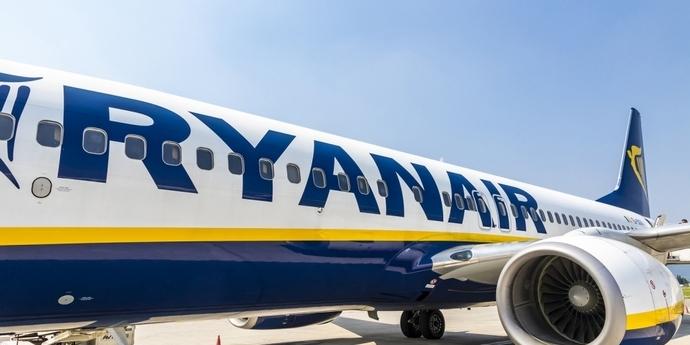 Ryanair потрапив до десятки топ-забруднювачів повітря в ЄС