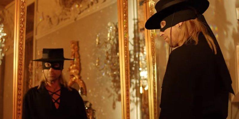 У новому кліпі Олег Винник постане в образі Зорро (відео)