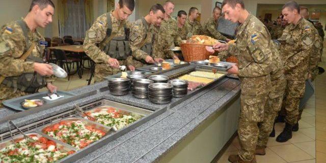 Постачальників харчування для ЗСУ оштрафували на 870 млн