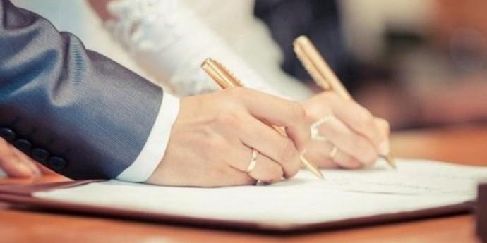 Стало відомо, скільки шлюбів уклали з початку року в Україні