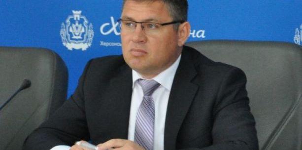 Слідом за головою Херсонської ОДА заяву про звільнення написав його заступник Рищук