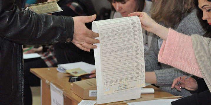 У Києві на дільниці з виборчої документації випаровувалось чорнило