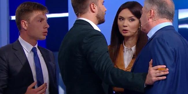 Щеня, мерзота, губошльоп: нардеп і екс-міністр влаштували скандал в прямому ефірі (відео)