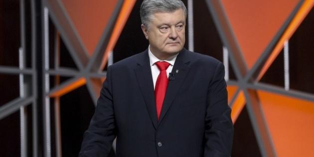 Порошенко записав відеозвернення до Зеленського (відео)