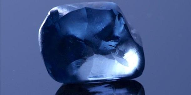 У Ботсвані знайшли рідкісний синій алмаз