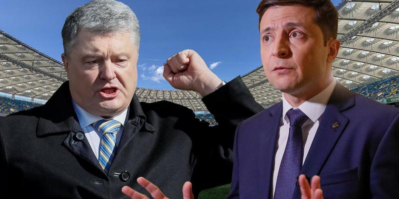 Порошенко і Зеленський за тиждень витратили на агітацію 147 млн