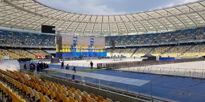 «Олімпійський» готовий до дебатів (фото, відео)