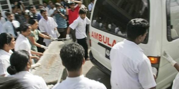 На Шрі-Ланці в двох церквах під час святкування Великодня сталися вибухи