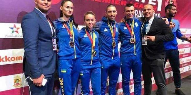 Українські каратисти виграли три золота на турнірі в Марокко
