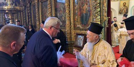 На пасхальній службі в Константинополі послання вселенського патріарха вперше зачитали українською мовою