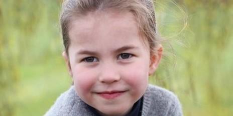 Схожа на Єлизавету ІІ: принцесі Шарлотті виповнилося чотири роки