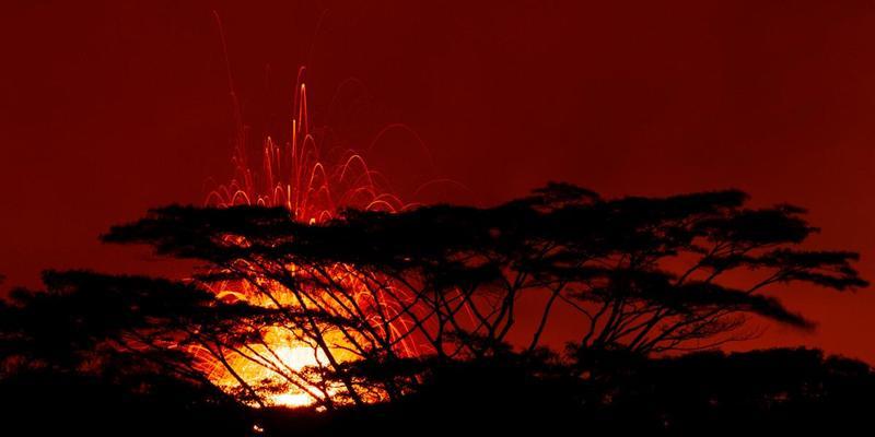 На Гаваях чоловік впав у кратер вулкана і вижив