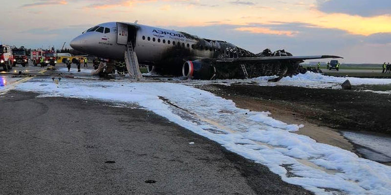 Зеленський прокоментував аварію у Шереметьєво